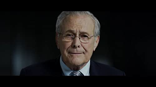 A portrait of Donald Rumsfeld, one of the key architects of the Iraq War, and a larger-than-life character who provoked equal levels of fury and adulation from the American public.