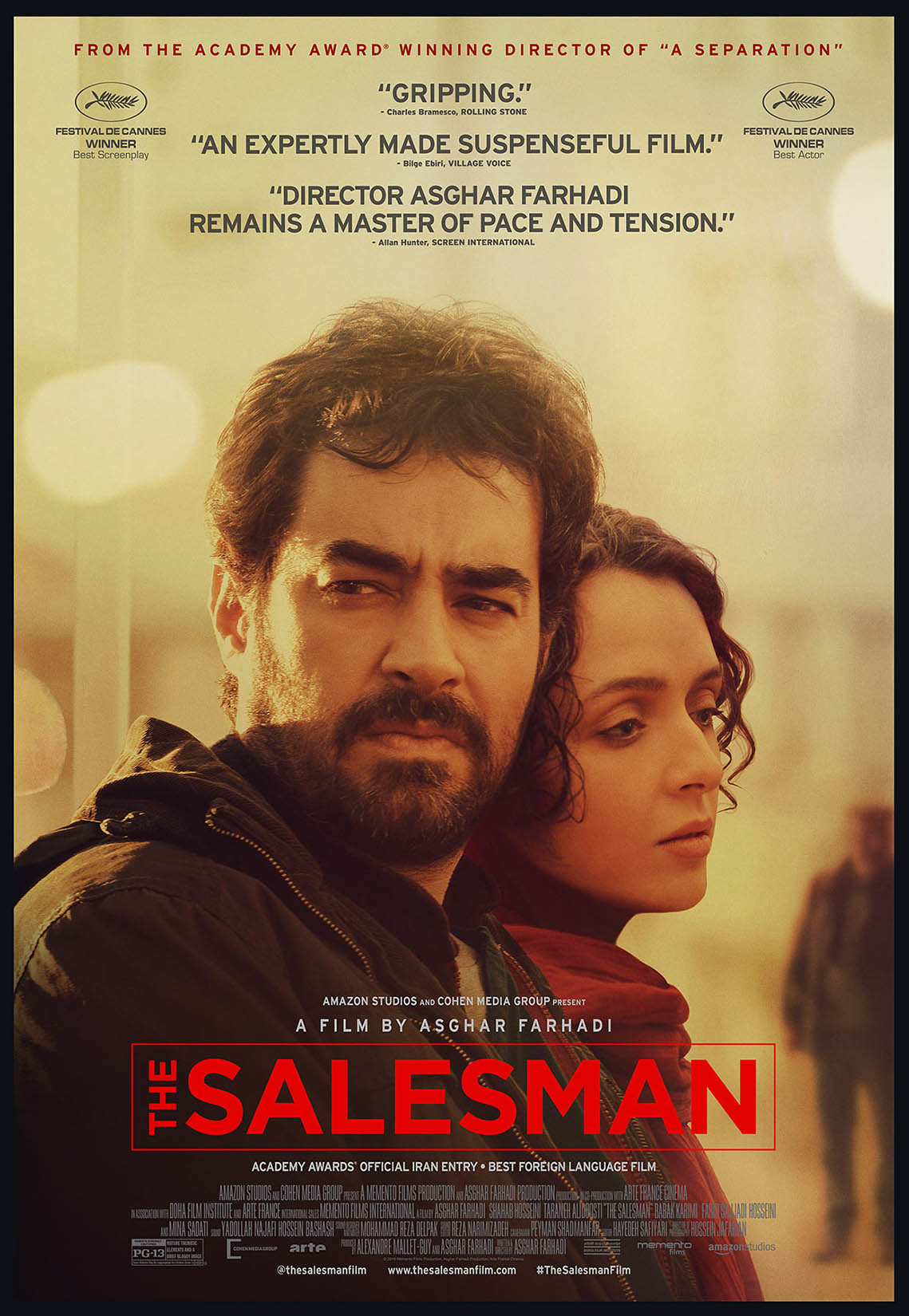 KOMIVOJAŽIERIUS (2016) / THE SALESMAN