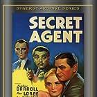 John Gielgud, Peter Lorre, Robert Young, and Madeleine Carroll in Secret Agent (1936)