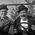 Oliver Hardy and Stan Laurel in Big Business (1929)