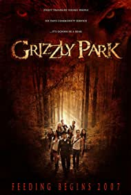 Shedrack Anderson III, Glenn Morshower, Kavan Reece, Randy Wayne, Jelynn Sophia, Zulay Henao, Julie Skon, Emily Baldoni, and Trevor Peterson in Grizzly Park (2008)
