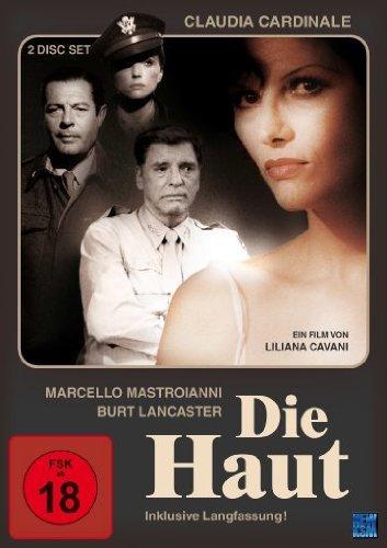 Burt Lancaster, Marcello Mastroianni, Claudia Cardinale, and Alexandra King in La pelle (1981)