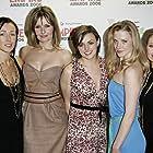 Shauna Macdonald, Saskia Mulder, Alex Reid, Nora-Jane Noone, and MyAnna Buring at an event for The Descent (2005)
