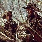 John Wayne and Jeffrey Hunter in The Searchers (1956)