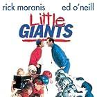 Rick Moranis, Sam Horrigan, and Ed O'Neill in Little Giants (1994)