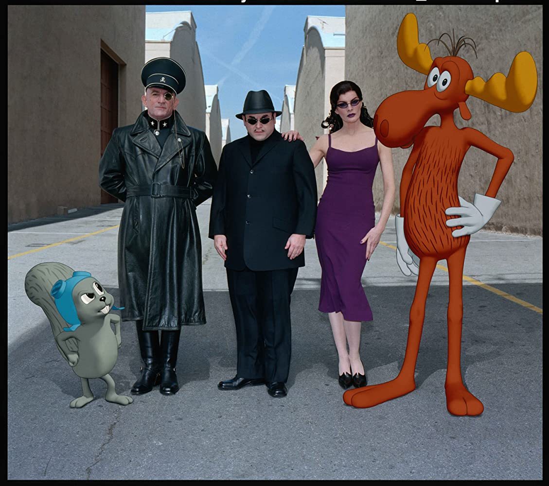 Robert De Niro Rene Russo and Jason Alexander in The Adventures of Rocky  Bullwinkle 2000