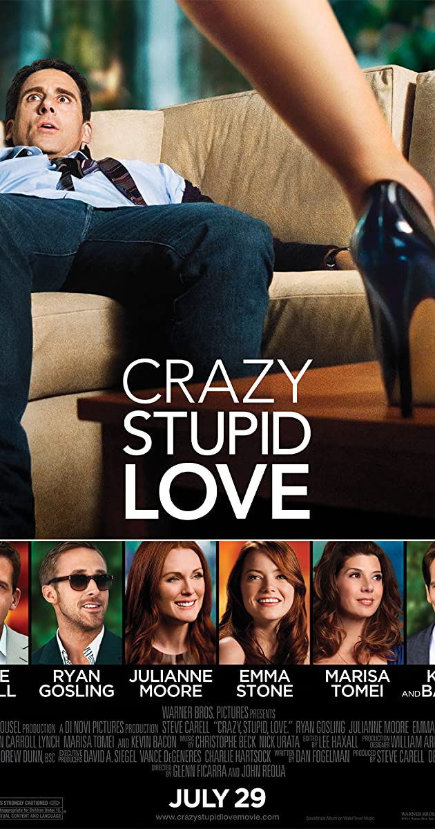Subtitle of Crazy, Stupid, Love.