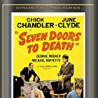Rebel Randall, Chick Chandler, and June Clyde in Seven Doors to Death (1944)