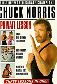 Chuck Norris: Private Lesson Poster