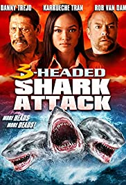 3-Headed Shark Attack Poster