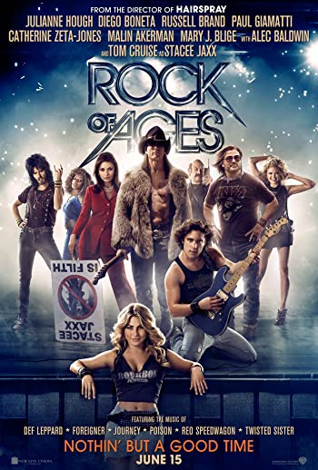Poster of Rock of Ages 2012 Full Hindi Dual Audio Movie Download BluRay 480p