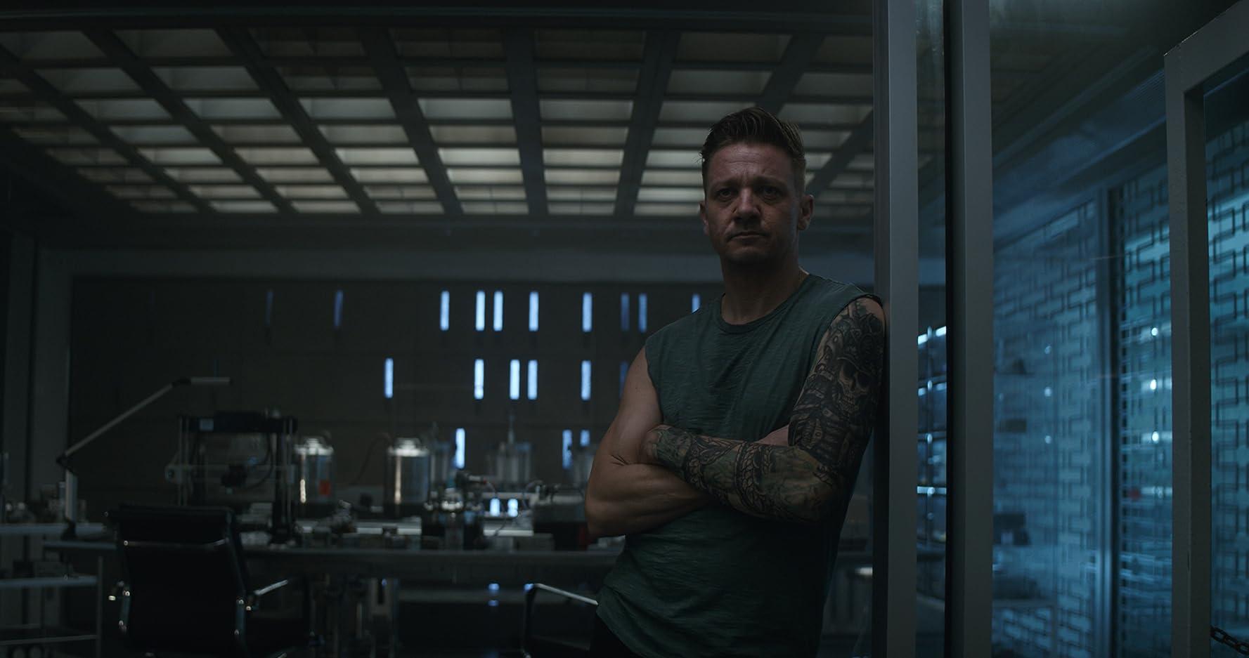 Jeremy Renner in Avengers: Endgame (2019)