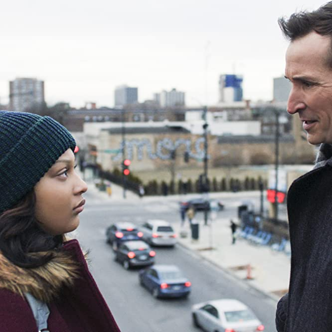Noah Wyle and Aliyah Royale in The Red Line (2019)