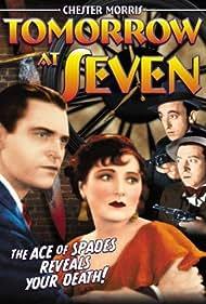 Allen Jenkins, Frank McHugh, Chester Morris, and Vivienne Osborne in Tomorrow at Seven (1933)