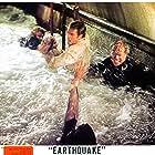 Charlton Heston and George Kennedy in Earthquake (1974)