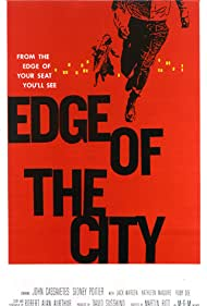 """""""Edge of the City"""" (Saul Bass Poster) 1957 MGM"""