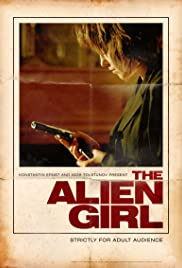 The Alien Girl Poster