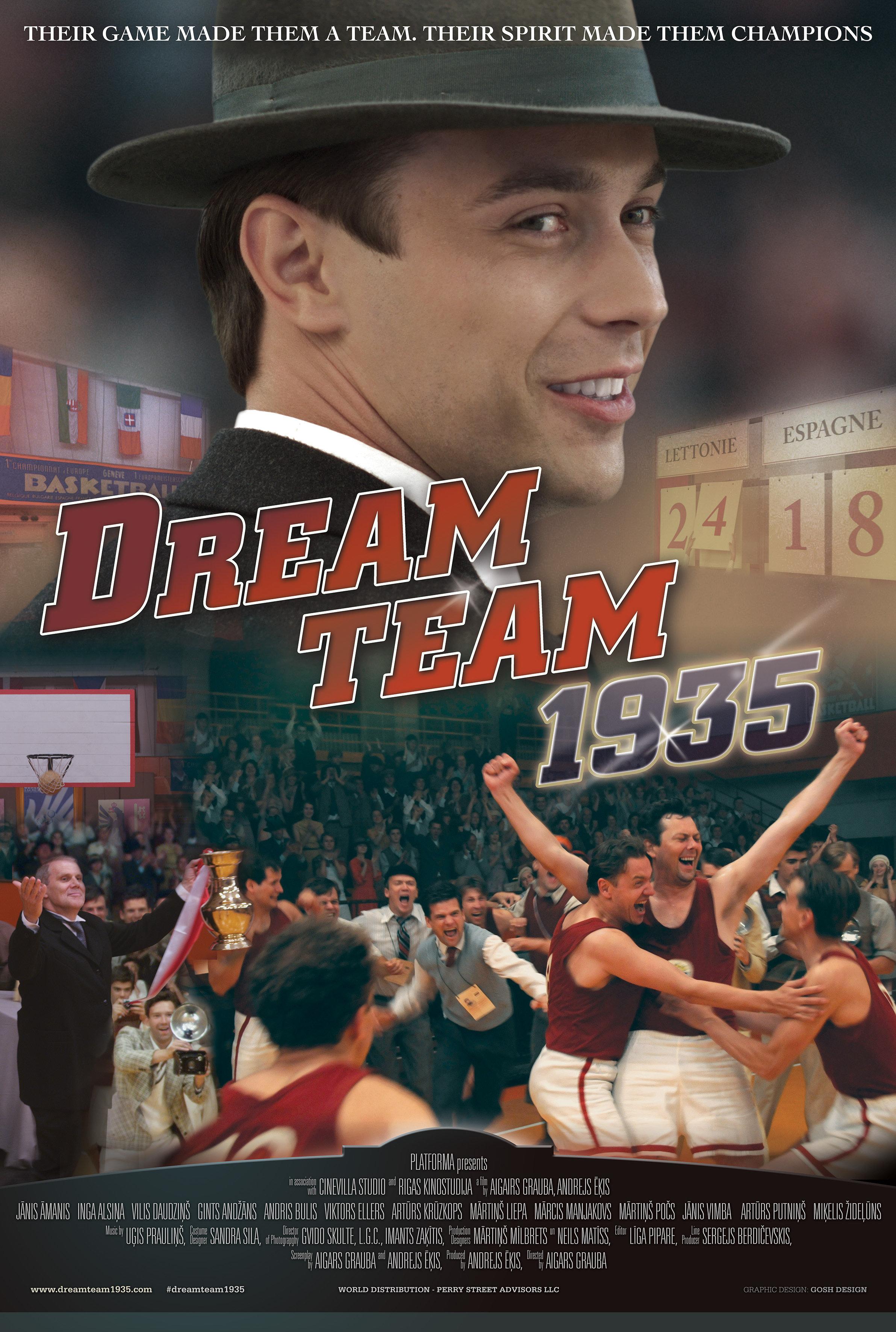 SVAJONIŲ KOMANDA 1935 / DREAM TEAM 1935