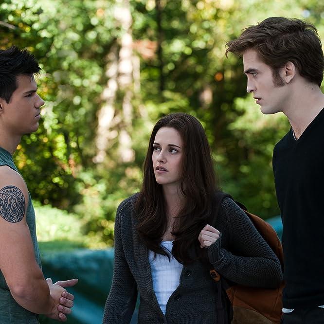 Kristen Stewart, Taylor Lautner, and Robert Pattinson in The Twilight Saga: Eclipse (2010)