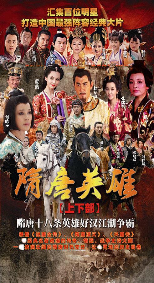 دانلود زیرنویس فارسی سریال Sui Tang yingxiong