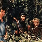 """1152-7 """"The Planet of the Apes"""" - Ron Harper, Roddy McDowall, and James Naughton, CBS, 1974."""