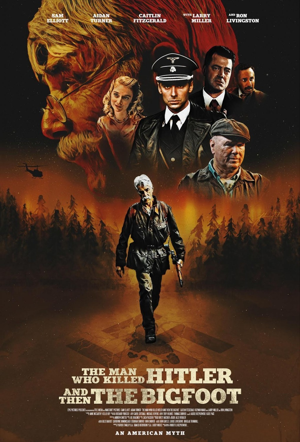 The Man Who Killed Hitler and Then The Bigfoot (2018) izle