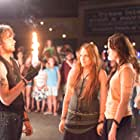 Miley Cyrus, Nick Lashaway, and Carly Chaikin in The Last Song (2010)