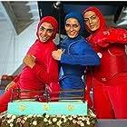 Elaheh Mansourian, Shahrbanoo Mansourian, and Soheila Mansourian in Platform (2021)