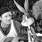 Bill Murray, Michael Jordan, Billy West, and Bugs Bunny in Space Jam (1996)