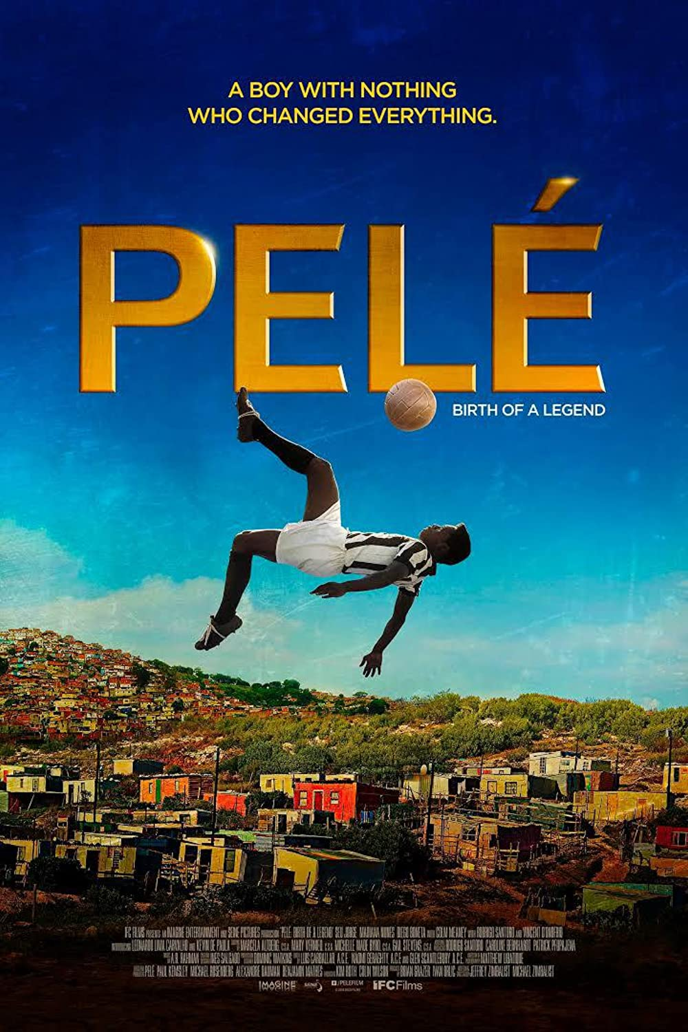 Poster film Pele: Birth of a Legend.