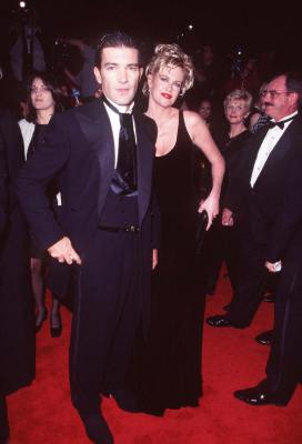 Antonio Banderas and Melanie Griffith at an event for Evita (1996)