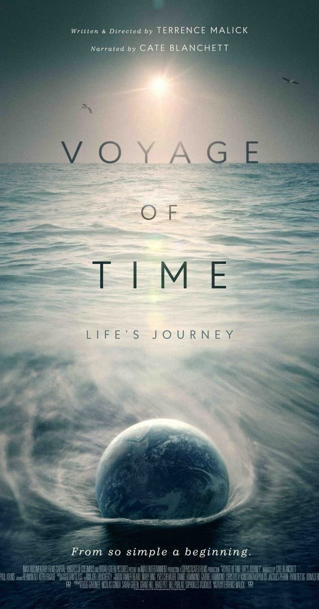 Subtitle of Voyage of Time: Life's Journey