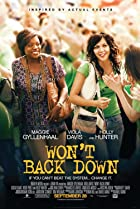 Won't Back Down (2012) Poster