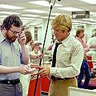 Robert Redford and Alan J. Pakula in All the President's Men (1976)