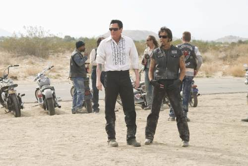 Michael Madsen and Larry Bishop in Hell Ride (2008)
