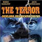 Jack Nicholson and Boris Karloff in The Terror (1963)