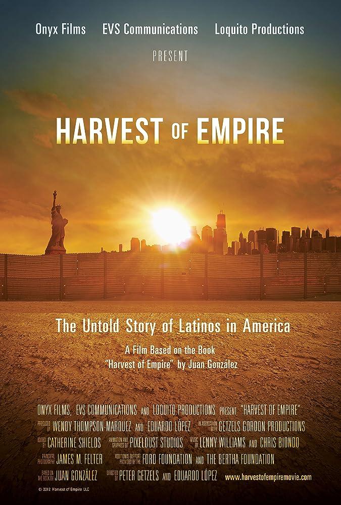 Cover art for Harvest of Empire