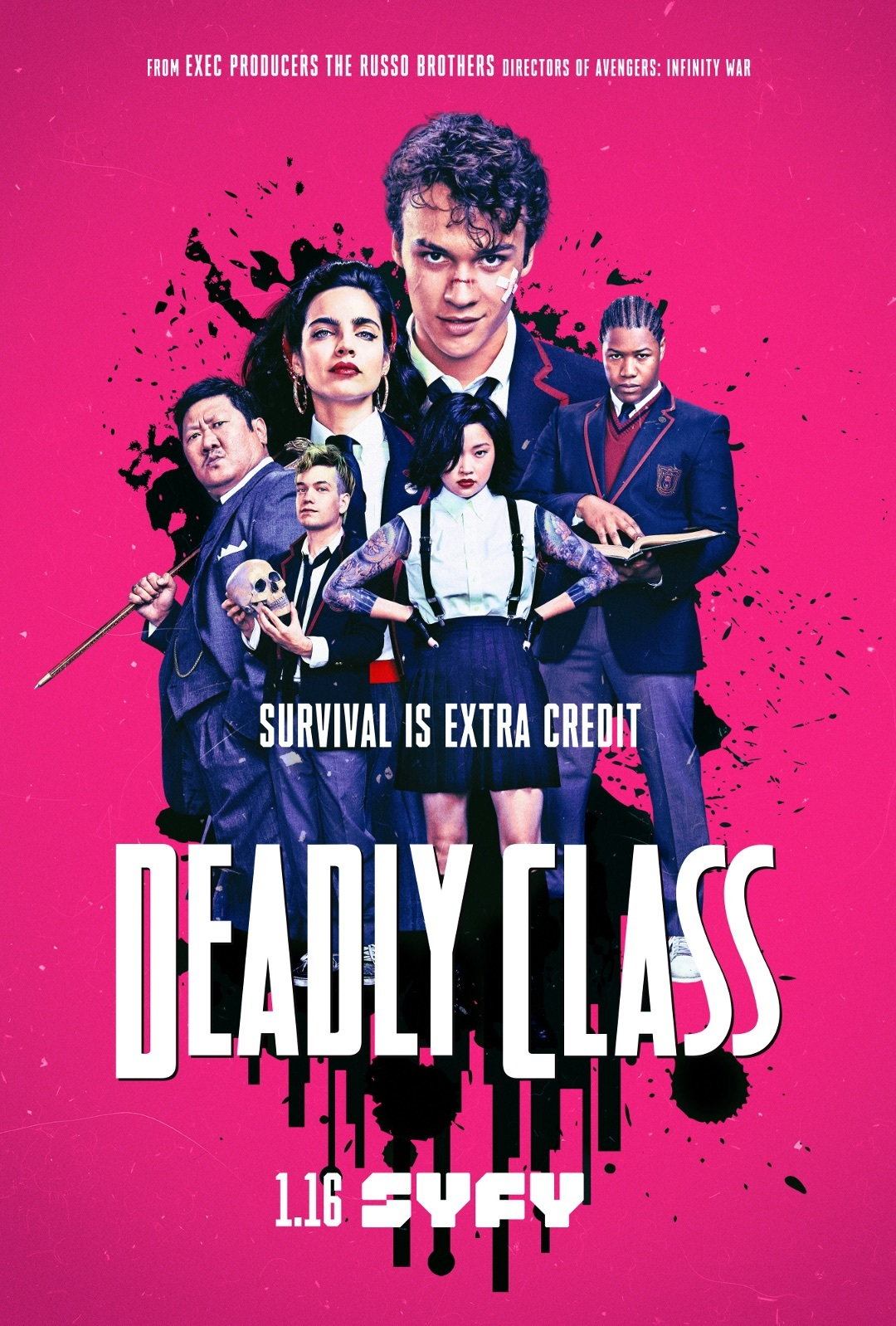 Mirtina klasė (1 Sezonas) / Deadly Class Season 1