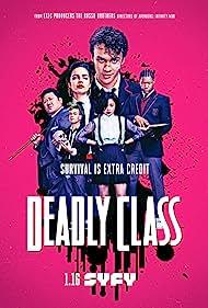 Benedict Wong, María Gabriela de Faría, Benjamin Wadsworth, Lana Condor, and Luke Tennie in Deadly Class (2018)