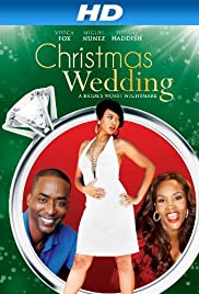 A Christmas Wedding Poster