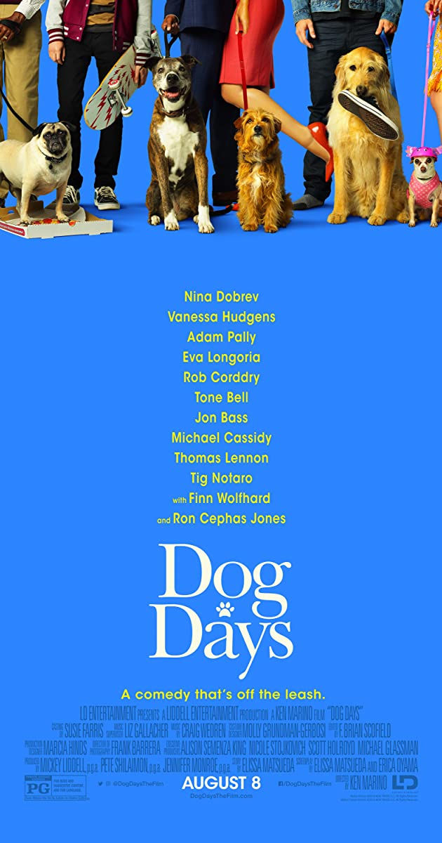 Play or Watch Movies for free Dog Days (2018)