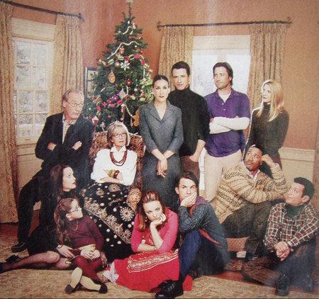 Claire Danes, Diane Keaton, Dermot Mulroney, Sarah Jessica Parker, Craig T. Nelson, Luke Wilson, Elizabeth Reaser, Brian White, Rachel McAdams, and Tyrone Giordano in The Family Stone (2005)