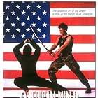 Michael Dudikoff and Tadashi Yamashita in American Ninja (1985)