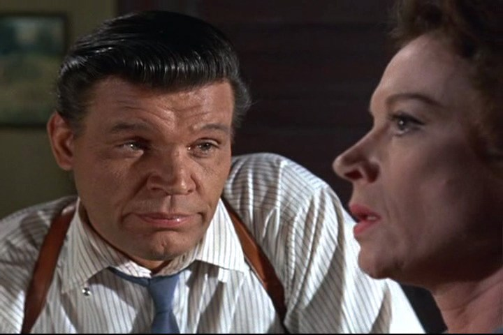 Neville Brand and Grayson Hall in That Darn Cat! (1965)