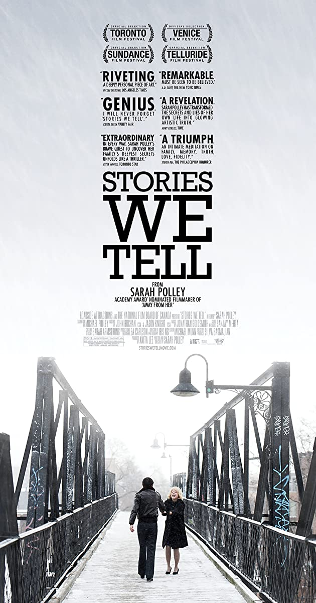 Subtitle of Stories We Tell