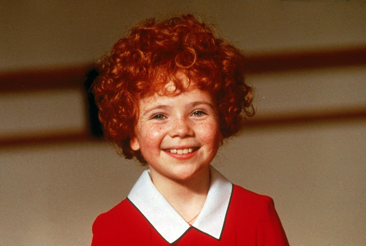 Aileen Quinn in Annie 1982