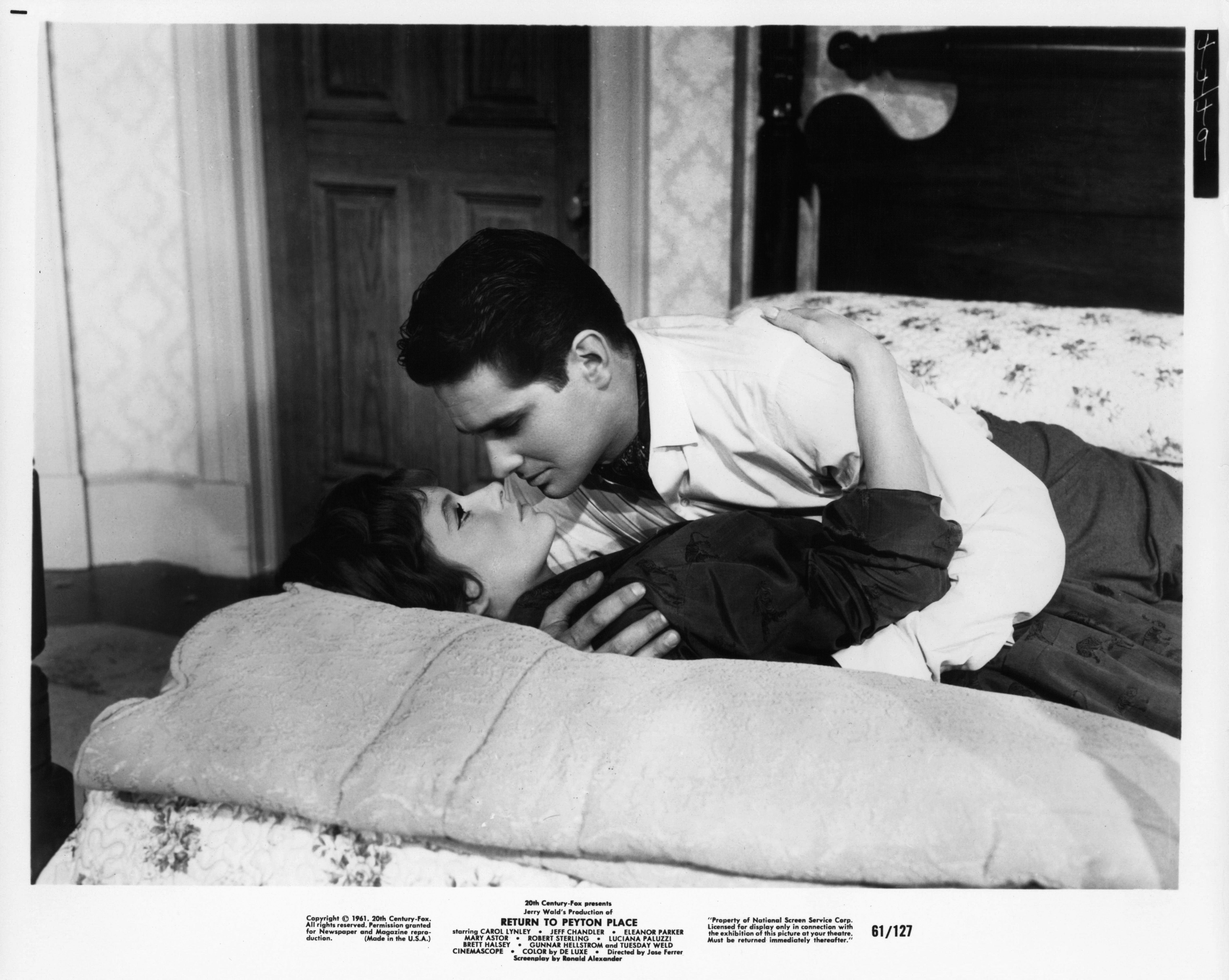 Brett Halsey and Luciana Paluzzi in Return to Peyton Place (1961)