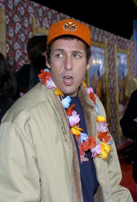 Adam Sandler at an event for 50 First Dates (2004)