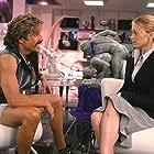 Ben Stiller and Christine Taylor in Dodgeball: A True Underdog Story (2004)