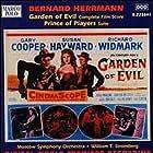 Gary Cooper, Susan Hayward, Rita Moreno, and Richard Widmark in Garden of Evil (1954)